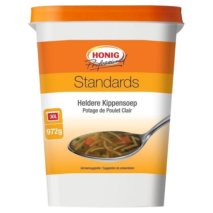 Honig Professional Heldere Kippensoep Standards 972 g Beker/kuipje (972g)