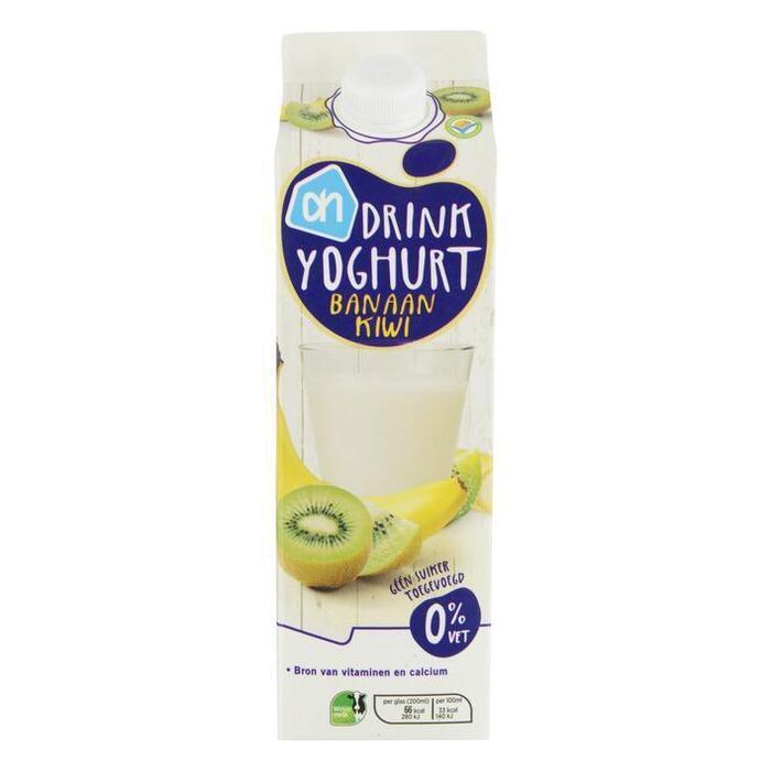 AH Drinkyoghurt banaan-kiwi (1L)