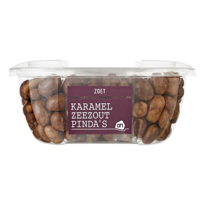 AH Caramel zeezout pinda's (210g)