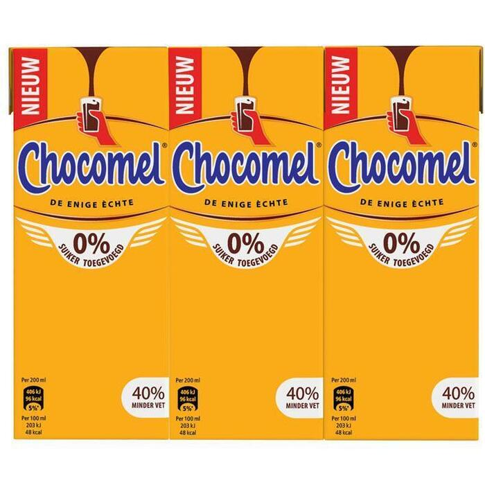 Chocomel Mager (pak, 6 × 200ml)