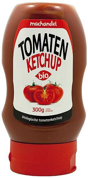 Tomatenketchup knijpfles
