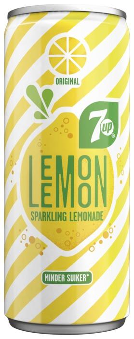 7UP Lemon Sparkling Lemonade Original 0,25 Liter (250ml)