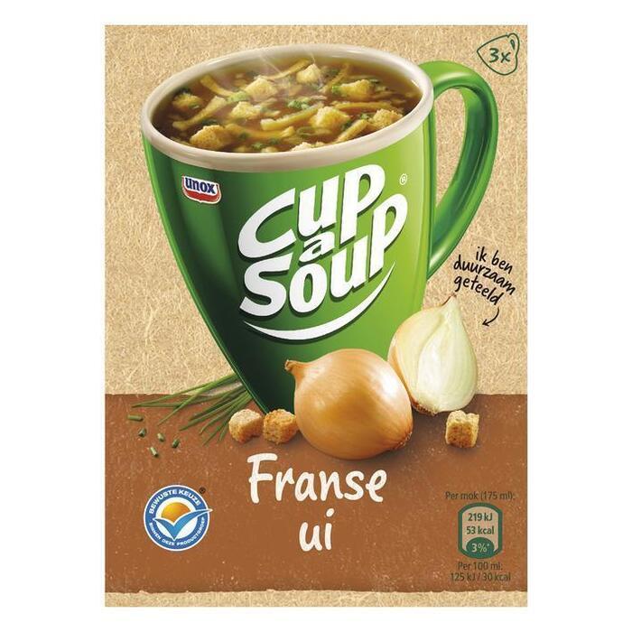 Cup-a-Soup franse uiensoep (3 × 13g)