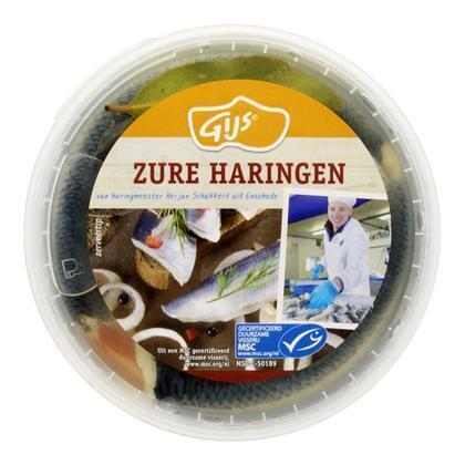 Zure haring (emmer, 350g)