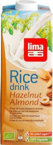 Rijstdrank hazelnoot (1L)