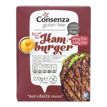 Consenza Hamburgers (270g)