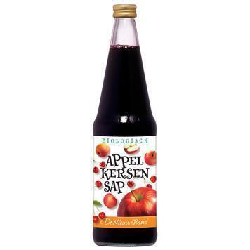 Appel-kersensap (glas, 0.7L)