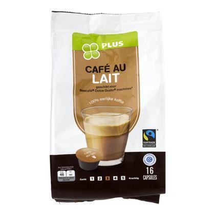 Koffiecapsules café au lait (16 × 155g)
