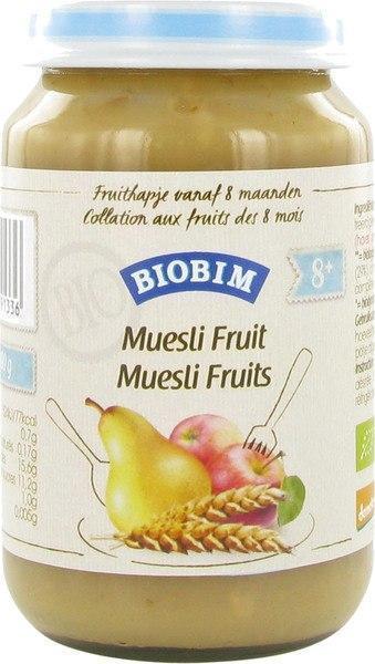 Muesli fruit 8+ maanden (200g)