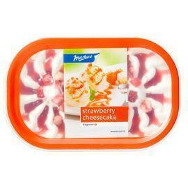 Markant Slagroom Ijs strawberry cheesecake 900 mL (0.9L)