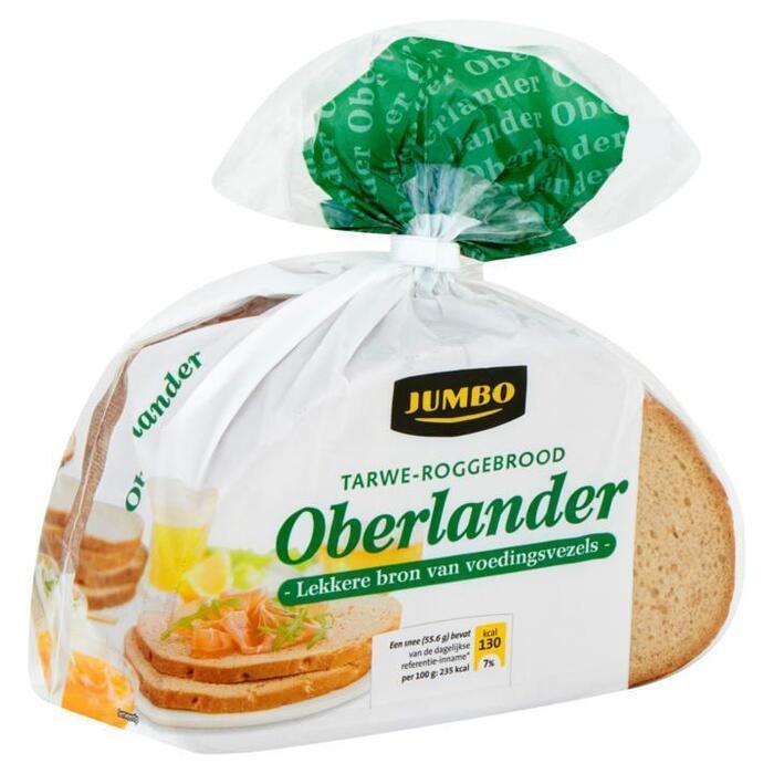 Tarwe-Roggebrood Oberlander (zak, 500g)