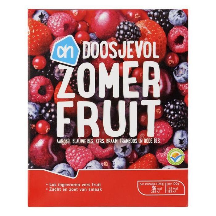 Doosjevol zomerfruit (doos, 250g)