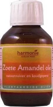 Zoete amandelolie (koudgeperst) (100ml)