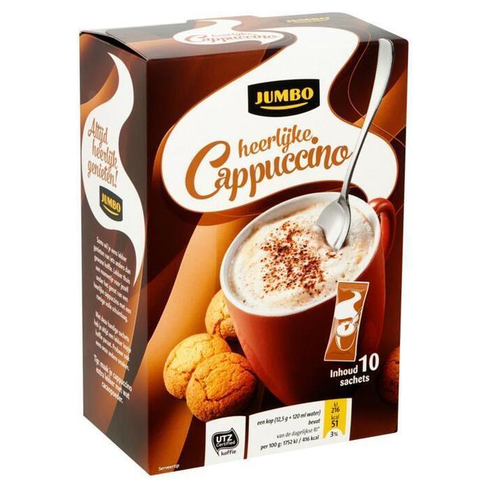 Jumbo Heerlijke Cappuccino 10 Sachets 125g (125g)