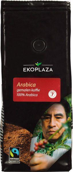 Arabica gemalen koffie (zak, 250g)