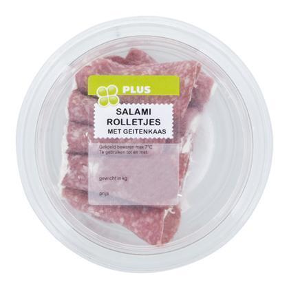Salami met geitenkaas (100g)