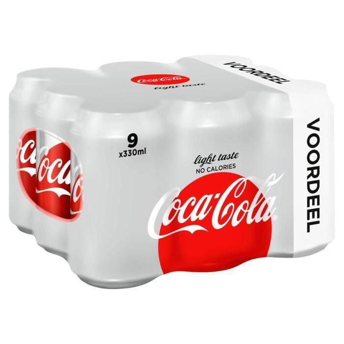Coca-Cola Light 9 x 330ml (9 × 33cl)