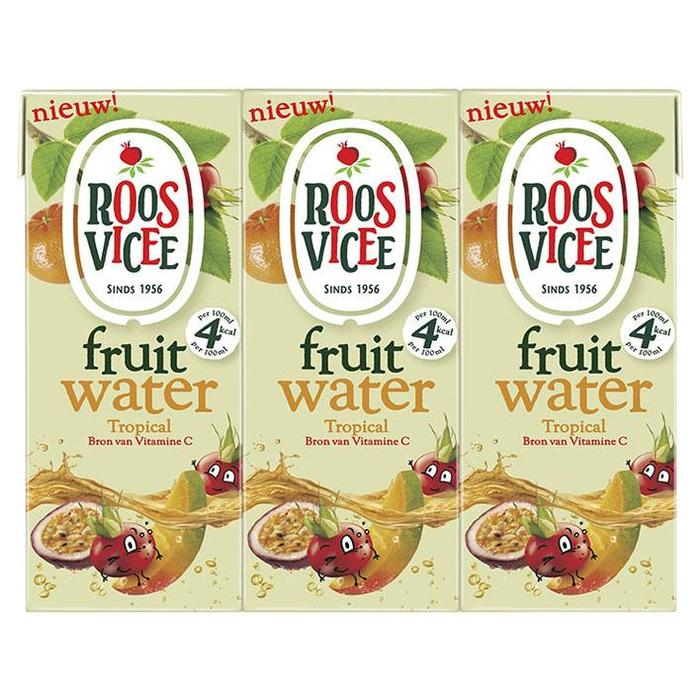 Roosvicee Fruitwater tropical (6 × 1.2L)