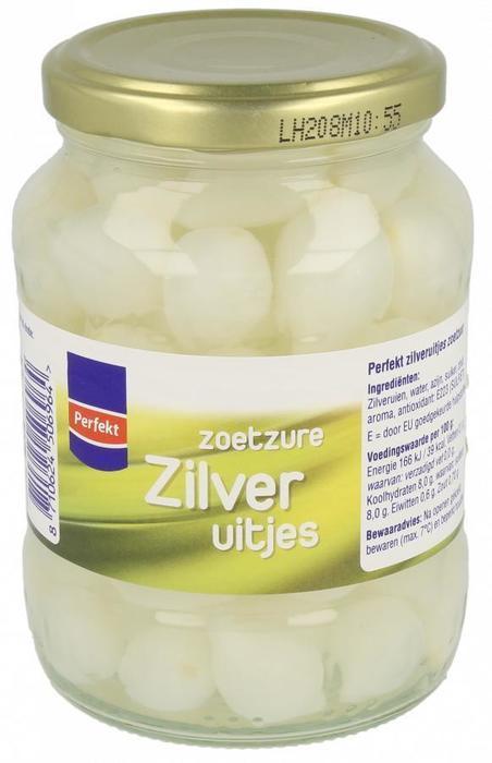 Zoetzure Zilveruitjes (pot, 320g)