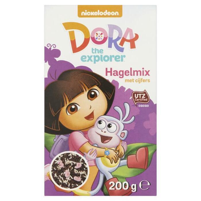 Nickelodeon Dora the Explorer Hagelmix met Cijfers 200 g (200g)