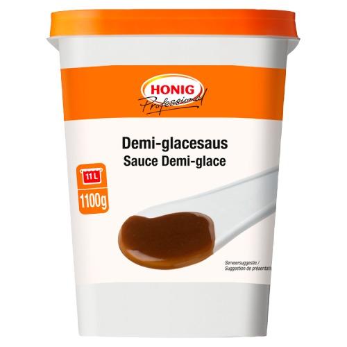 Honig Professional Demi-Glacesaus 1100 g Beker/kuipje (1.1kg)
