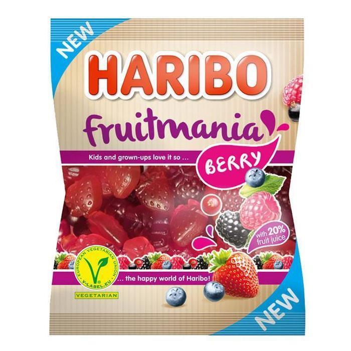 Haribo Fruit mania berrie (175g)