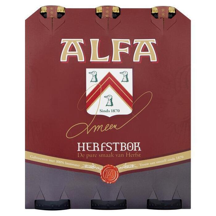 Alfa Bokbier (rol, 6 × 30cl)