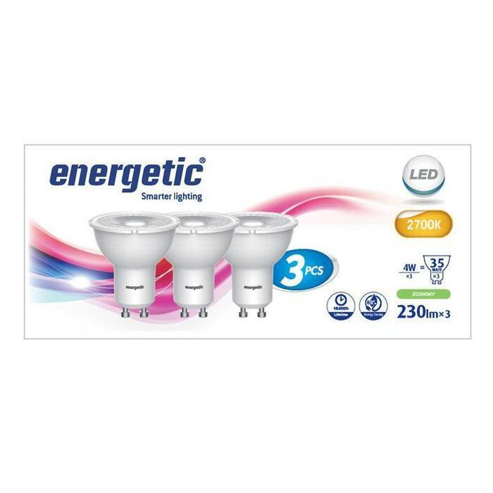 Energetic Led reflecterend 35w (3 st.)