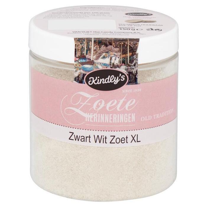 Kindly's Zoete Herinneringen Zwart Wit Zoet XL 150g (150g)