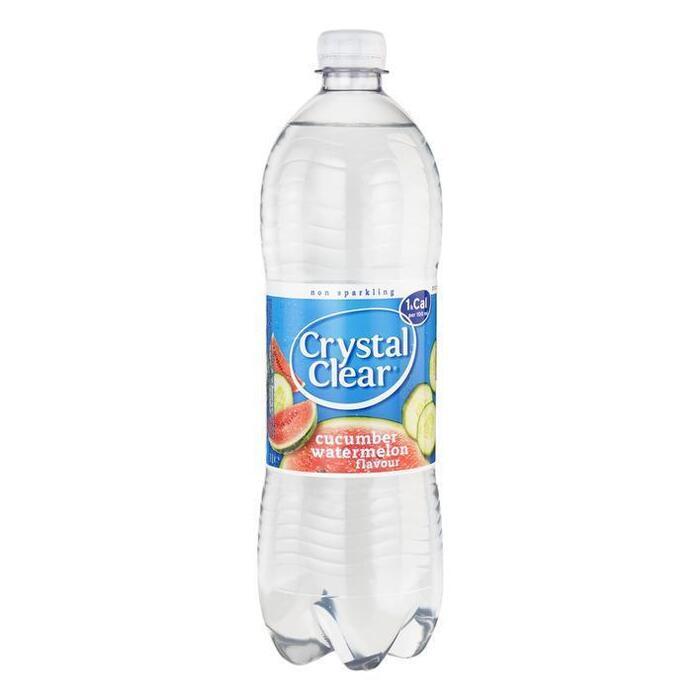Crystal Clear Koolzuurvrij cucumber watermelon (1L)