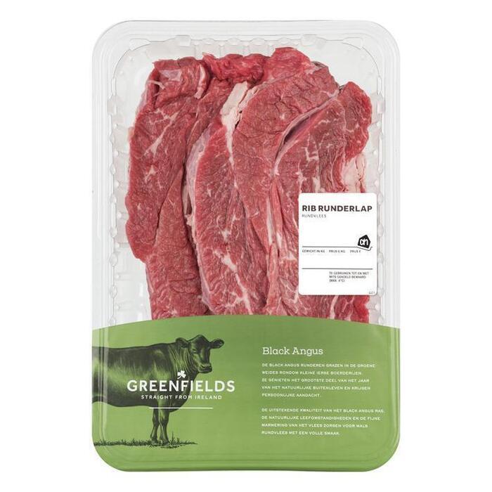 AH Greenfields rib runderlappen (450g)