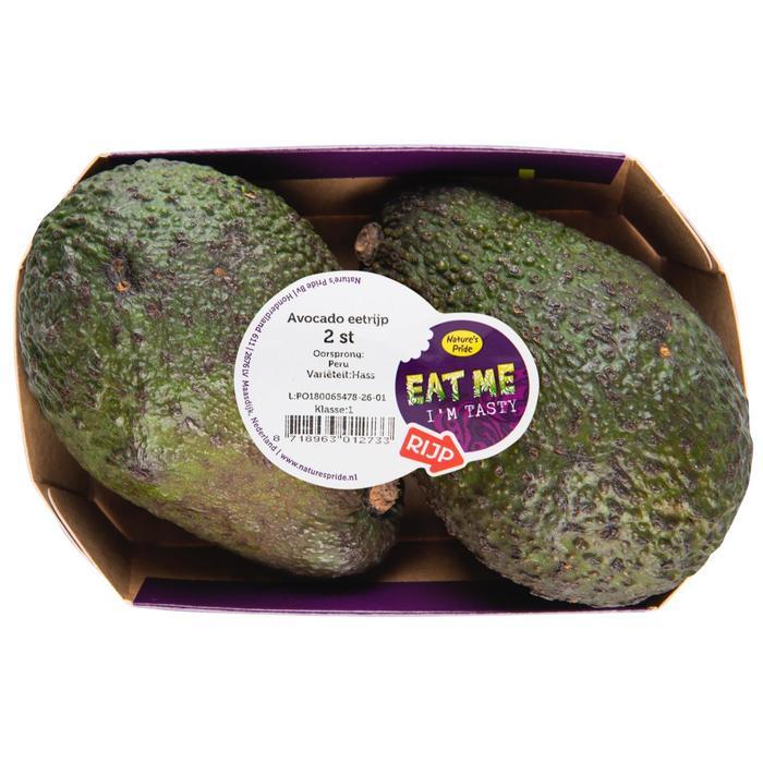 Eat Me Avocado 2 stuks eetrijp