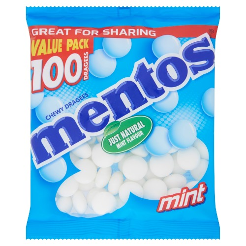 Mentos Chewy Dragees Mint 300g (300g)