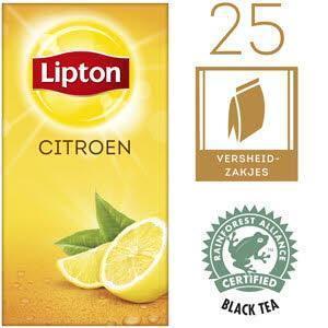 Lipton Thee Professioneel Lemon (40g)