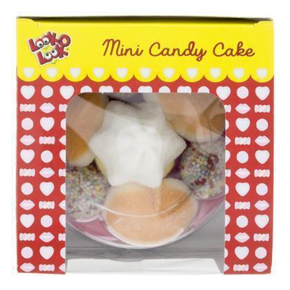 LOOK-O-LOOK Mini Cake  Snoep 105 GR Doos (105g)