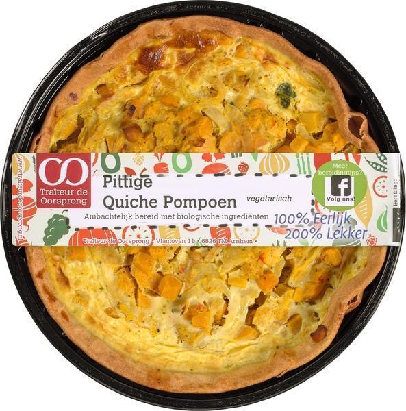 Pittige quiche pompoen (350g)