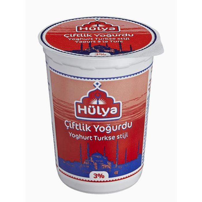 CE Hulya Ciftlik Turkse yoghurt 500g (500g)