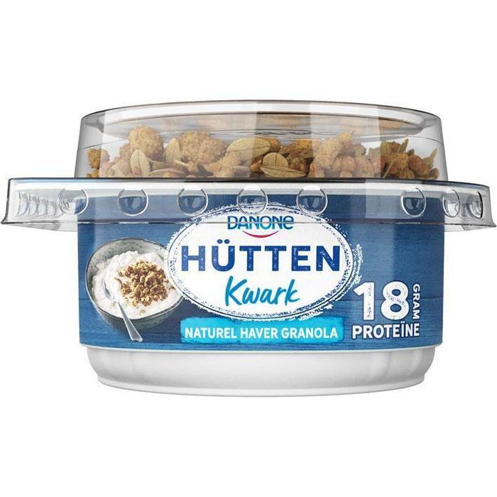 Danone Hüttenkwark naturel haver granola (165g)