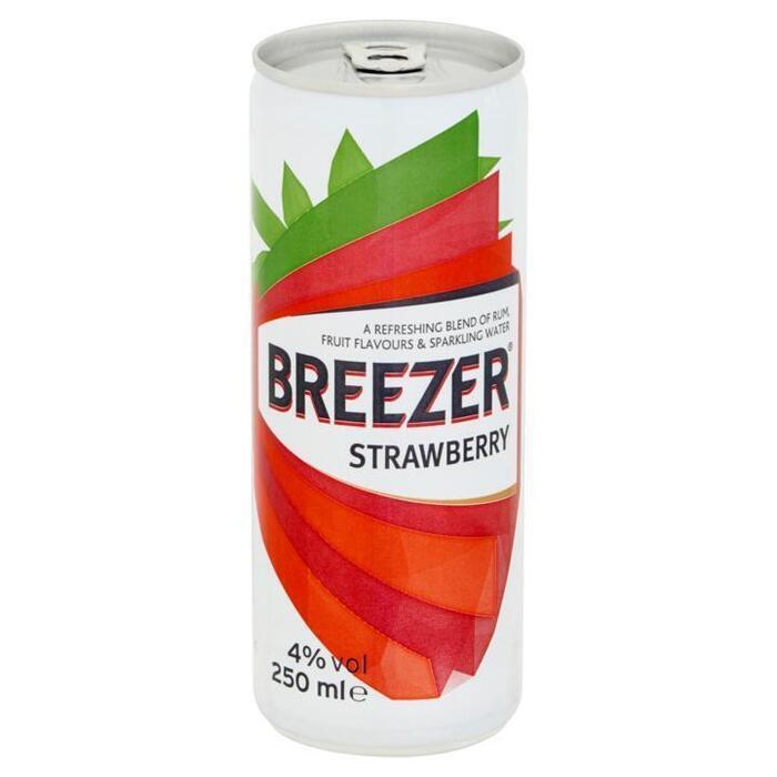 Bacardi Breezer Strawberry 25 cl (rol, 25 × 250ml)