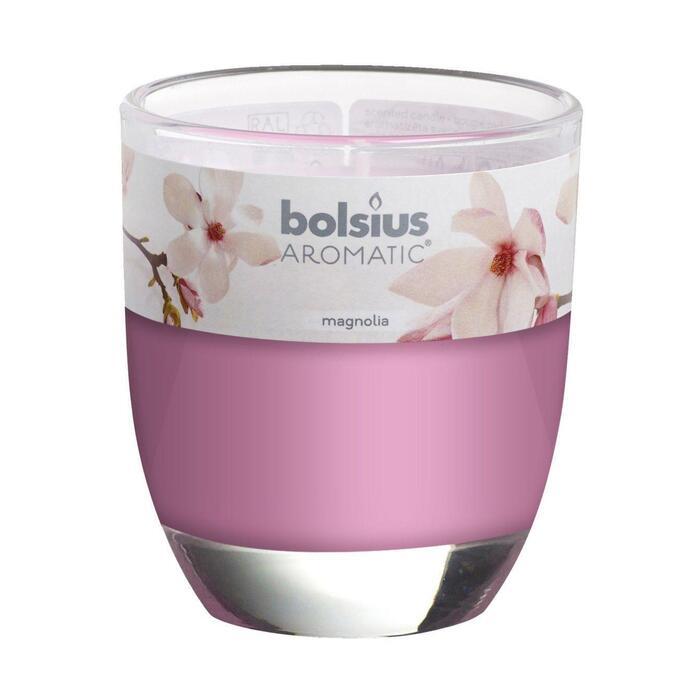 Bolsius aromatic geurglas gevuld 80/70 cranberry