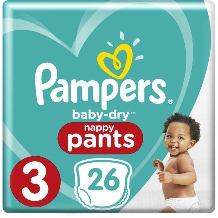 Luiers Pampers Baby dry pants mt 3