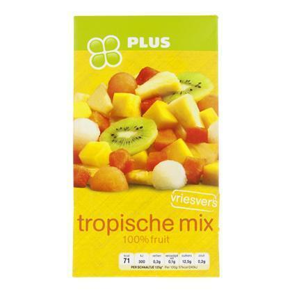 Tropische vruchtenmix (250g)