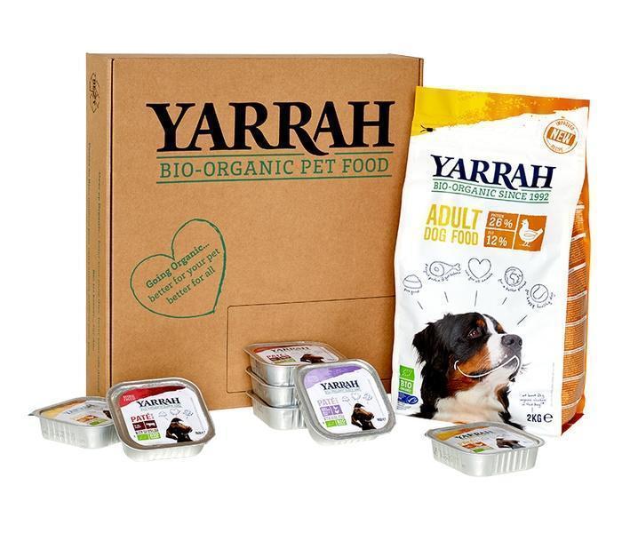 Hond over op Organic box (3.7kg)