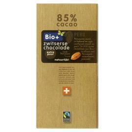 Biologische chocolade puur 85% (100g)