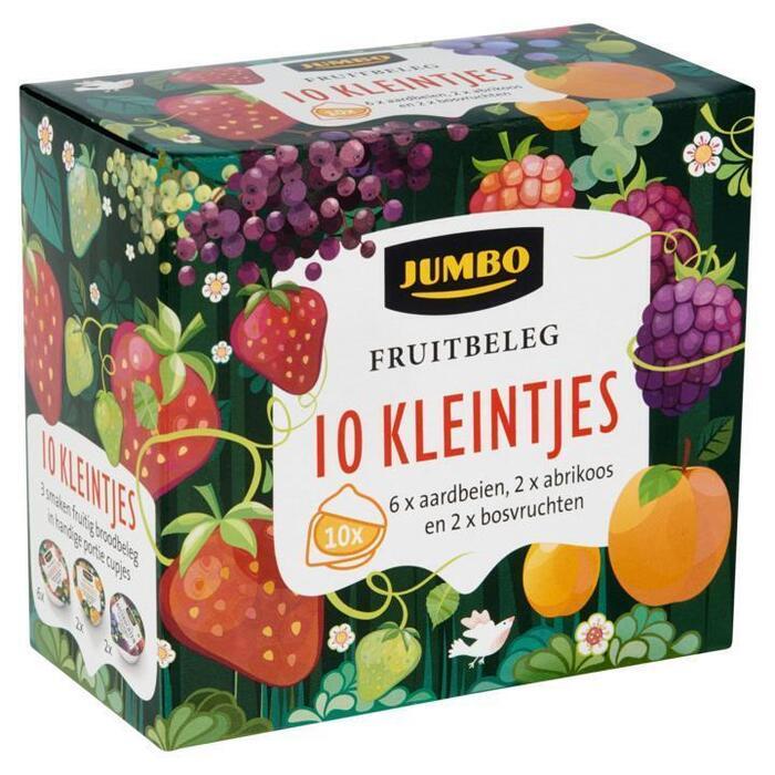 Fruitbeleg Aardbeien, Abrikoos en Bosvruchten 10 Kleintjes