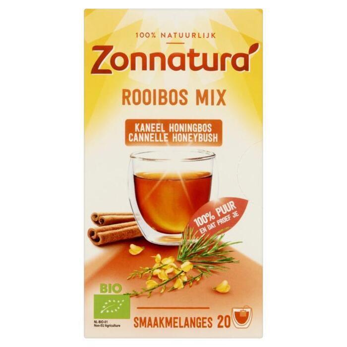 Zonnatura Afrika rooibos kaneel honing (20 × 38g)