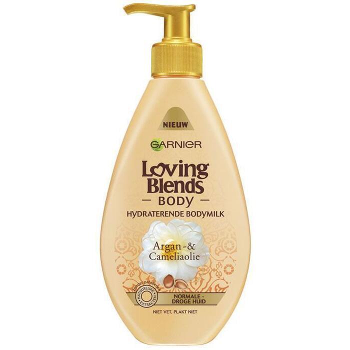 Garnier Loving Blends argan & camelia bodymilk (250ml)