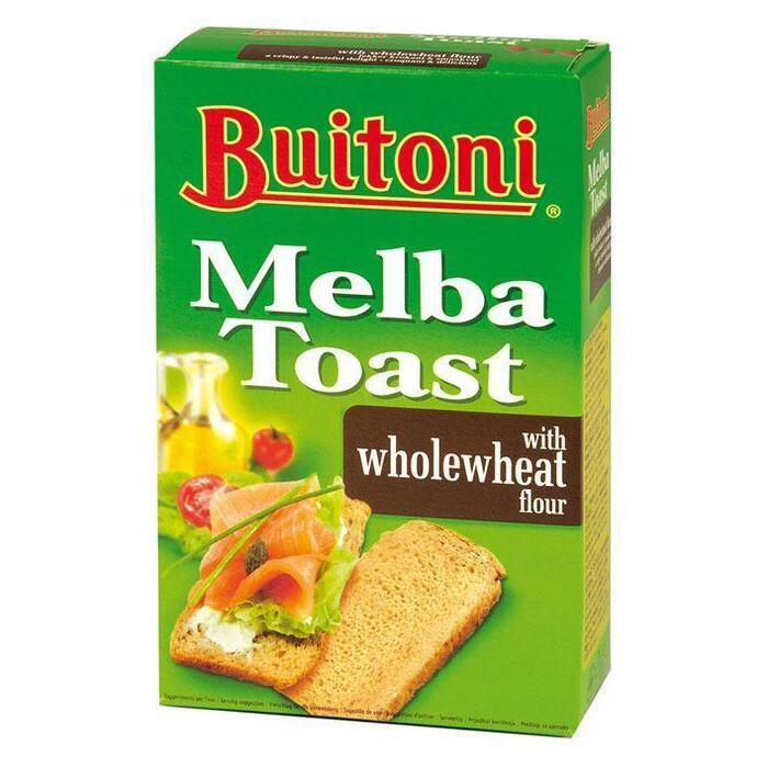 Melba toast volkoren (100g)