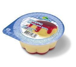 Pudding griesmeel/bessen