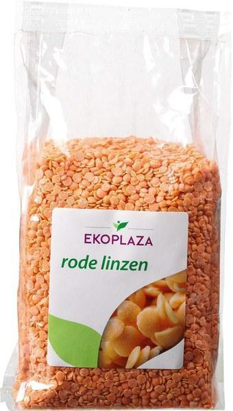 Rode linzen (zak, 500g)